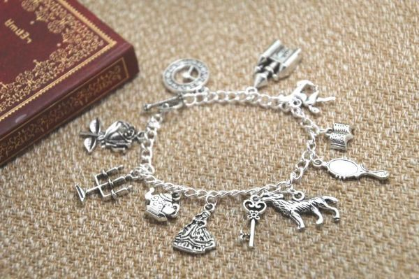 Beauty & the Beast Charm Bracelet